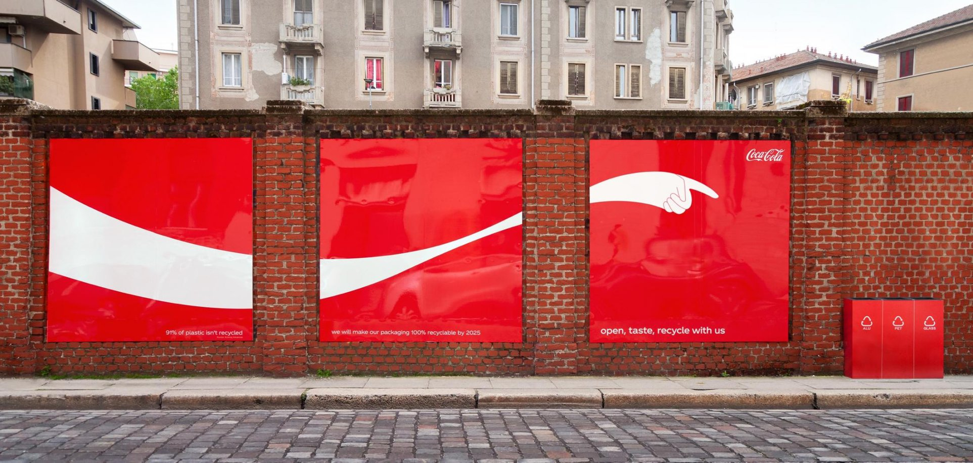 Coca Cola's Campaign to Recycle