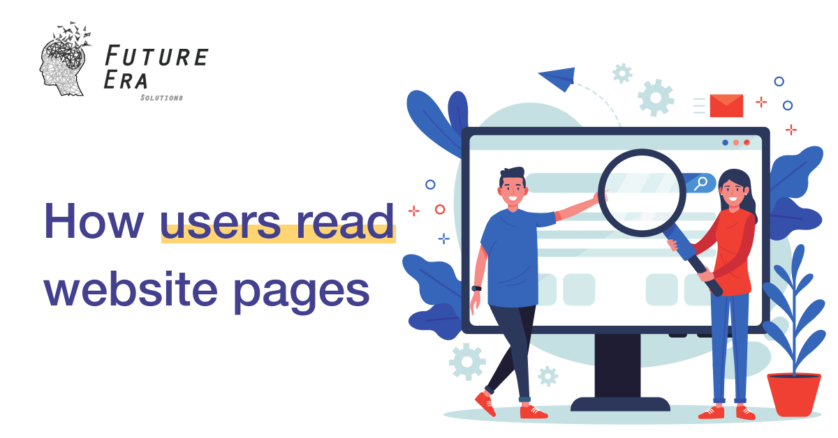 How users read website pages
